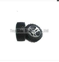 WL A959 rc car spare parts Wheel tires 2PCS WLtoys A959 backup parts