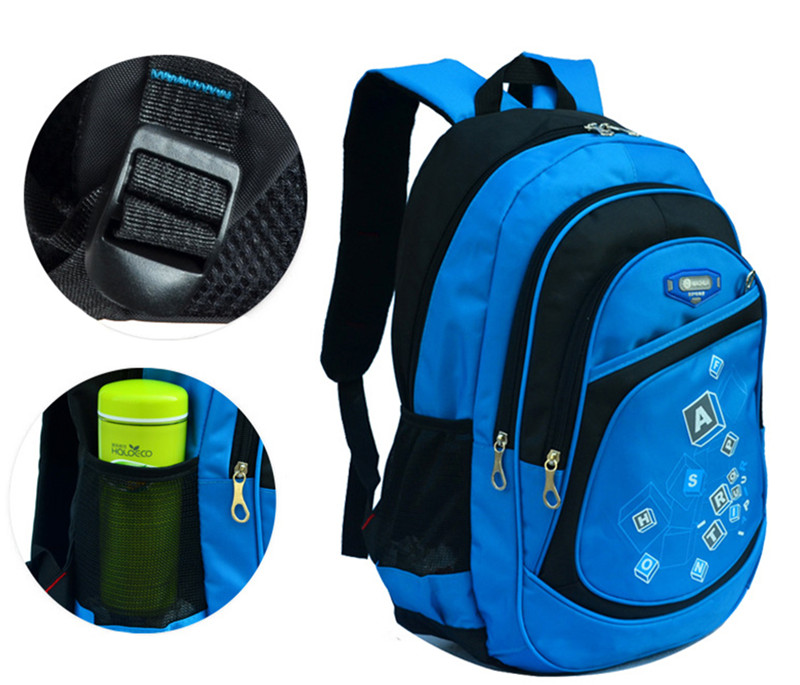 Hot Children School Bags for Boys Girls Waterproof printing backpack kids book bag SchoolBag shoulder rucksack mochila escolar