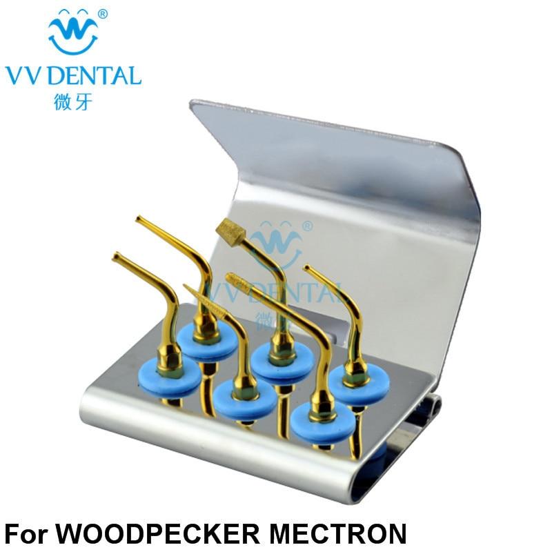 WSIK- Dental Ultrasonic Surgery Implant Kit Dental Piezo Surgery Tip Kit For WOODPEKCER ULTRASURGERY/ MECTRON PIEZOSURGERY