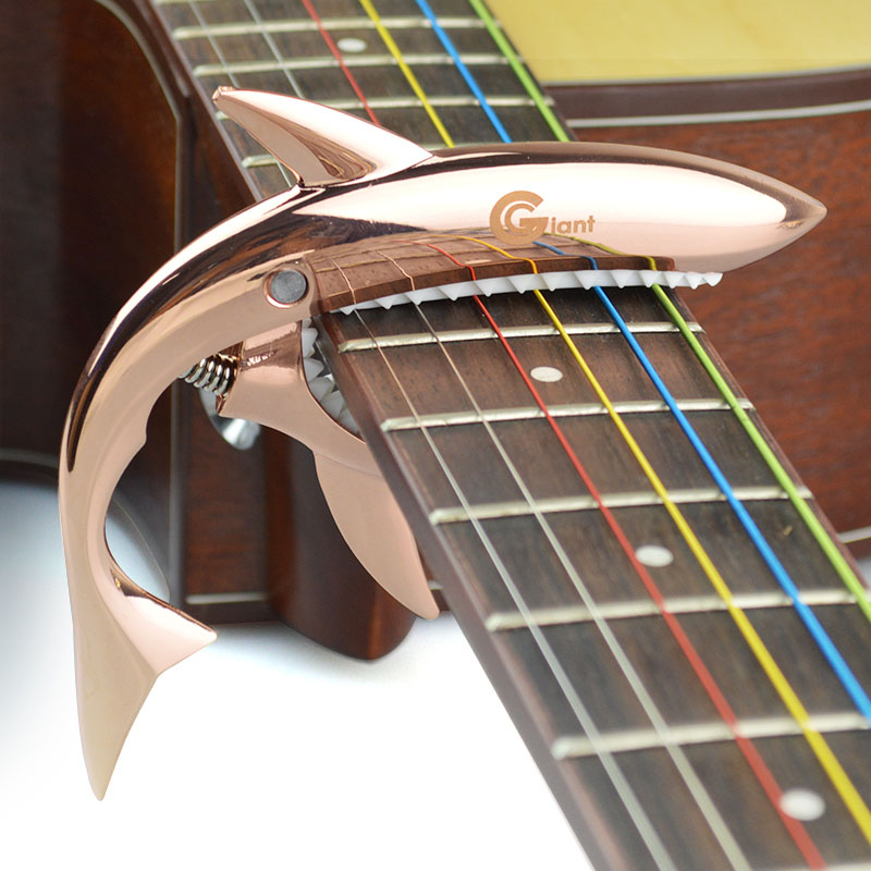 Metal Shark Guitar Capo String Capotraste Violao for Acoustic Electric Guitarra Bass 6 Strings Guitar Parts Guitars Capos in Guitar Parts Accessories from Sports Entertainment