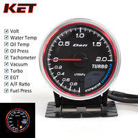 Defi CR Auto Gauge Meter Defi Boost Gauge Water Temp Oil Temp Oil Press Vacuum Fuel Press EXT Temp AFR Tachometer Stepper Motor