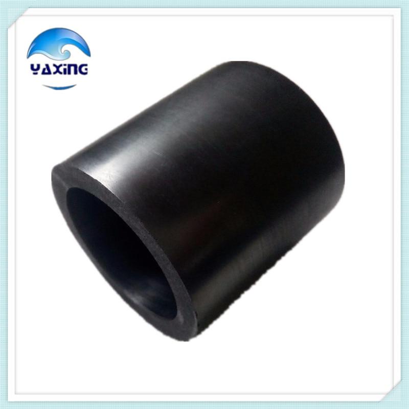 Dia100x H100mm high pure melting graphite crucible for melting metal graphite crucible for melting metal high purity graphite crucible 3kg