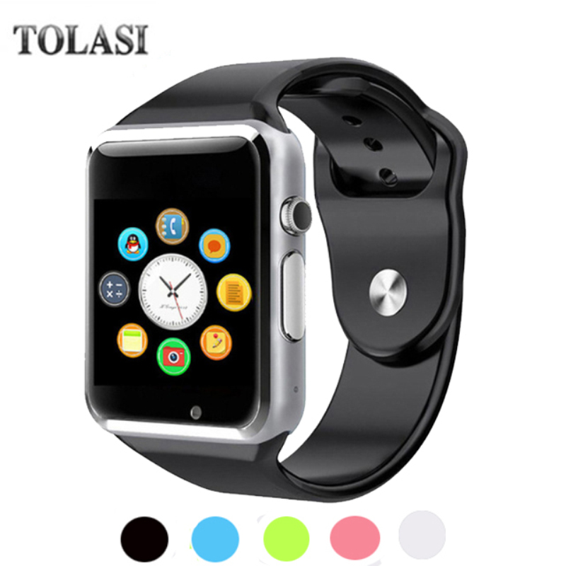 Free Shipping A1 WristWatch Bluetooth Smart Watch Sport Pedometer with SIM Camera Smartwatch For Android Smartphone Russia T15 цена