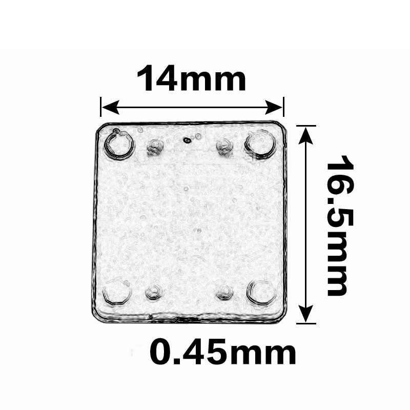 50 шт. серия UK универсальные групповые клеммы напряжения Маленькие прокладки UK2.5B аксессуары TS-K небольшие вставки