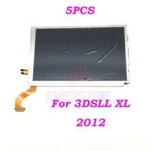 5 шт., сменный Верхний ЖК экран для Nintendo 3DS XL LL N3DS