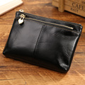 2016 New luxury brand Zero wallet zipper pattern genuine leather wallet multi-function coin purses holders