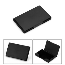 Weduoduo New Women And Men Business ID Name aluminium metal credit card Holder Fashion holder cover birthday gift case