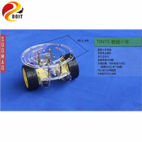 2WD Mart Car Chassis With Velocity Tracing Obstacle Avoidance Control Race Car 2wd