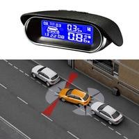 Car Auto Parking Sensors Car Reverse Backup Radar System Car Parking Assistance Reversing Radar LCD Display Car Styling
