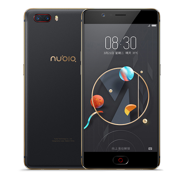 Mondiale Nubia M2 5.5 FHD 4 gb RAM 128 gb ROM mobile téléphone MSM8953 Octa Core 3630 mah 16.0MP android M D'empreintes Digitales ID Smartphone