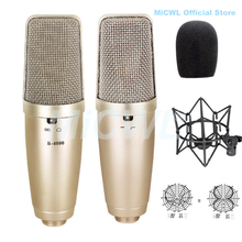 XLR 3Pin Large Diaphragm Cardioid Condenser Microphone TLM 103 for Stage vocal concert Sing Record MiCWL Mic