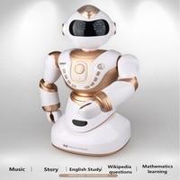 Интеллектуальный пульт дистанционного управления робот гуманоид робот игрушка Smart игрушка электрический робот детские игрушки образовани