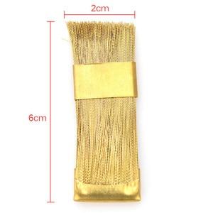 Image 5 - 1Pc électrique manucure forets nettoyage brosse nettoyant clou foret outil propre fil de cuivre perceuse brosse dentaire foret