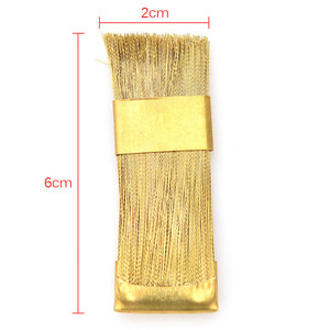 Image 5 - 1Pc חשמלי מניקור מקדחות ניקוי מברשת מנקה נייל מקדח כלי נחושת חוט תרגיל מברשת שיניים מקדח