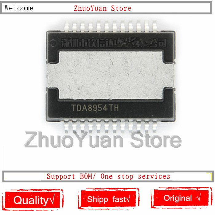10PCS/lot TDA8954TH Chip TDA8954 Chip TDA8954T HSOP-24 New Original IC Chip
