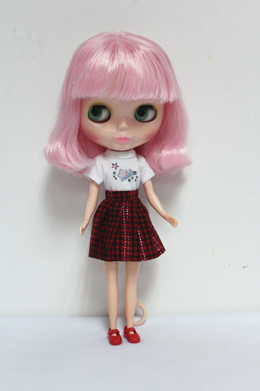 Free Shipping Top discount 4 COLORS BIG EYES DIY Nude Blyth Doll item NO. 50 Doll limited gift special price cheap offer toy free shipping transparent rbl 197t diy nude blyth doll birthday gift for girl 4 colour big eyes with beautiful hair cute toy