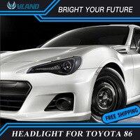 2pcs Car LED Strip Head Lamp LED Turn Light Lamp For Toyota FT GT 86 FT86 GT86 Subaru BRZ