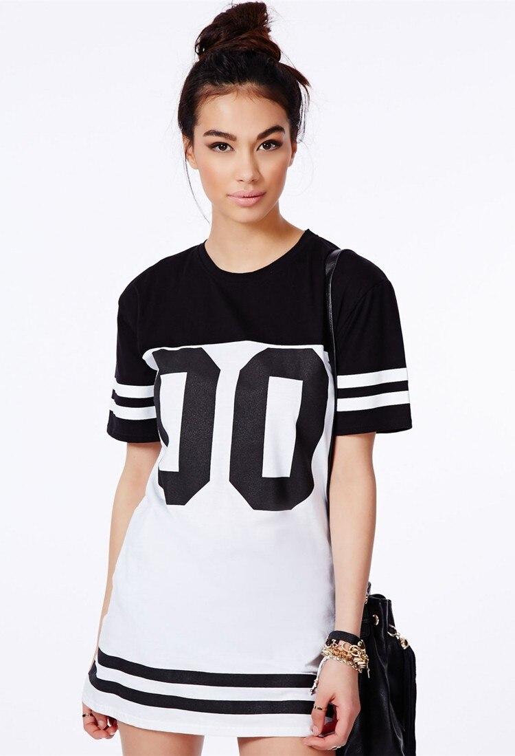 longline t shirt dress