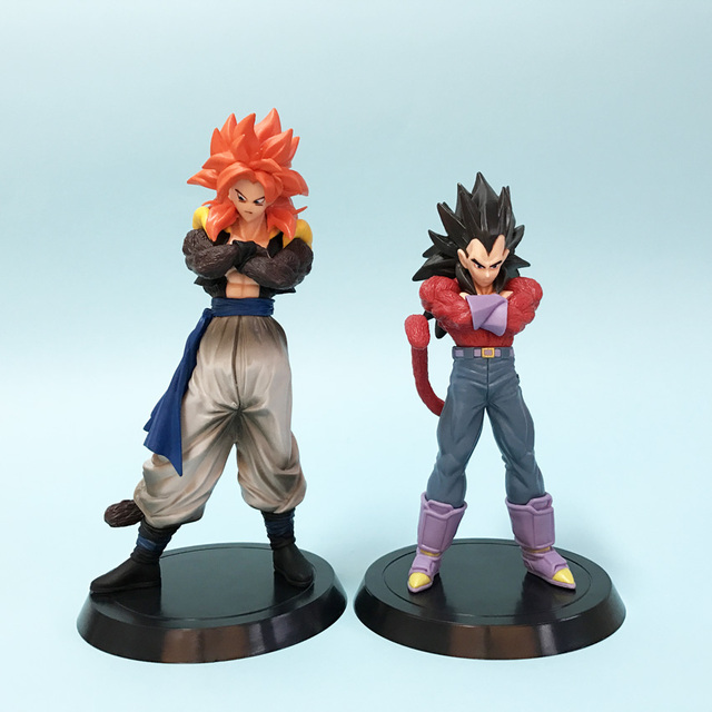Anime Dragon Ball GT Dragonball Son Goku Dragon Ball Z Super Saiyan Vegeta Gogeta PVC Action Figure Modelo Boneca Brinquedos