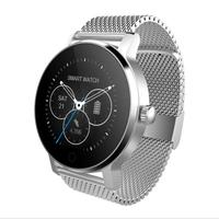 New Smart Watch Men With BT Phone Sms Twitter Facebook Whatsapp Skype Photo Reminder Sports Steps