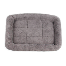 Large Dog Beds Gray Warm Soft Blanket For Small Medium Pet Cat Sleeping Mat Mattress Cushion 95*68cm/80*60cm/65*45cm/55*35cm