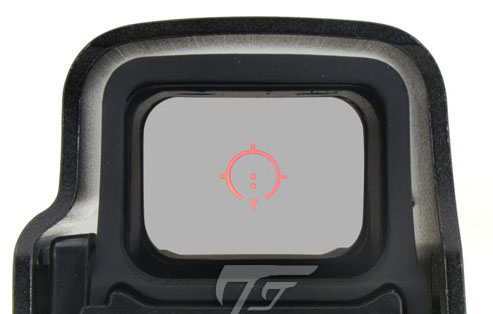 JJ Airsoft 3x Magnifier con Killflash y XPS 3-2 Red Dot (Negro / Tan) Compre uno y llévese GRATIS Killflash / Kill Flash