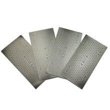 Алмазный песок Бумага покрытием для пчелиных сот Замена абразивный Бумага песок Бумага шлифовальный Бумага 150#240#400#1000# Грит HT414-417