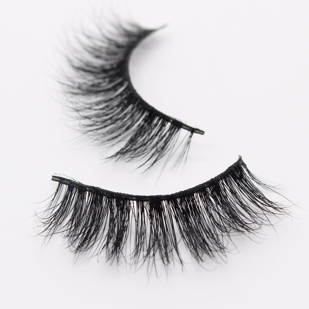 66da221da7e Ptcharming Handmade 100% Real Siberian Mink False Eyelash Individual  Eyelashes Extension 3D Faux Lashes PTAME A02-in False Eyelashes from Beauty  & Health on ...
