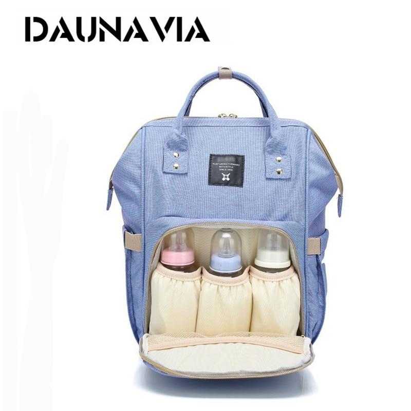DAUNAVIA Fashion Brand Large Capacity Baby Bag Travel Backpack Designer Nursing Bag for Baby Mom Backpack Women Carry Care Bags