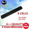 8 клетки лэптоп аккумулятор для ASUS A450 A550 F450 F552 P450 X450 X550 A41-X550 A41-X550A