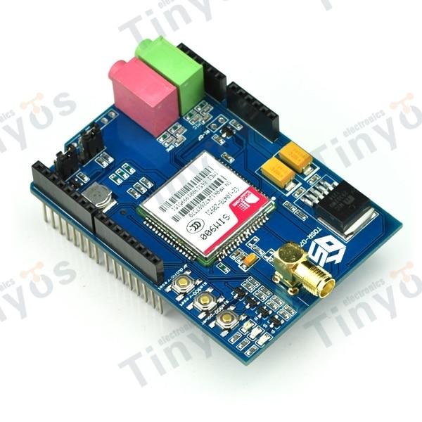 Arduino with GSM GPRS GPS Shield - GSM / GPS /