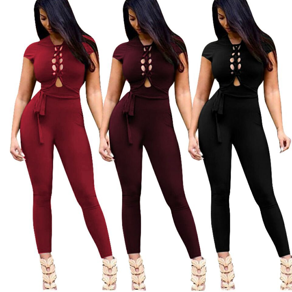 Amazon of Jumpsuit Body Suits Plus Size Bodysuits 2018 Coveralls Body Women Top Macacao Feminino Mono Largo Mujer Pantalon Femme