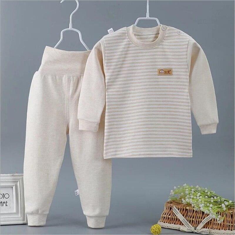 Neue Baby Mädchen Nachtwäsche Anzüge Infant Pyjamas 100% Baumwolle Neugeborenen Schlaf Sets Kinder Kleidung Zu Hause 3-24 Monate