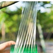 DHL 200 шт. практичная 2 см x 100 м прививка ленты садовые инструменты фруктовое дерево секаторы ограждение ветка Садоводство привязать ремень ПВХ связующая лента
