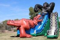 Конкурентоспособная цена надувные дети слайд открытый парк развлечений оборудование из Китая Поставщик