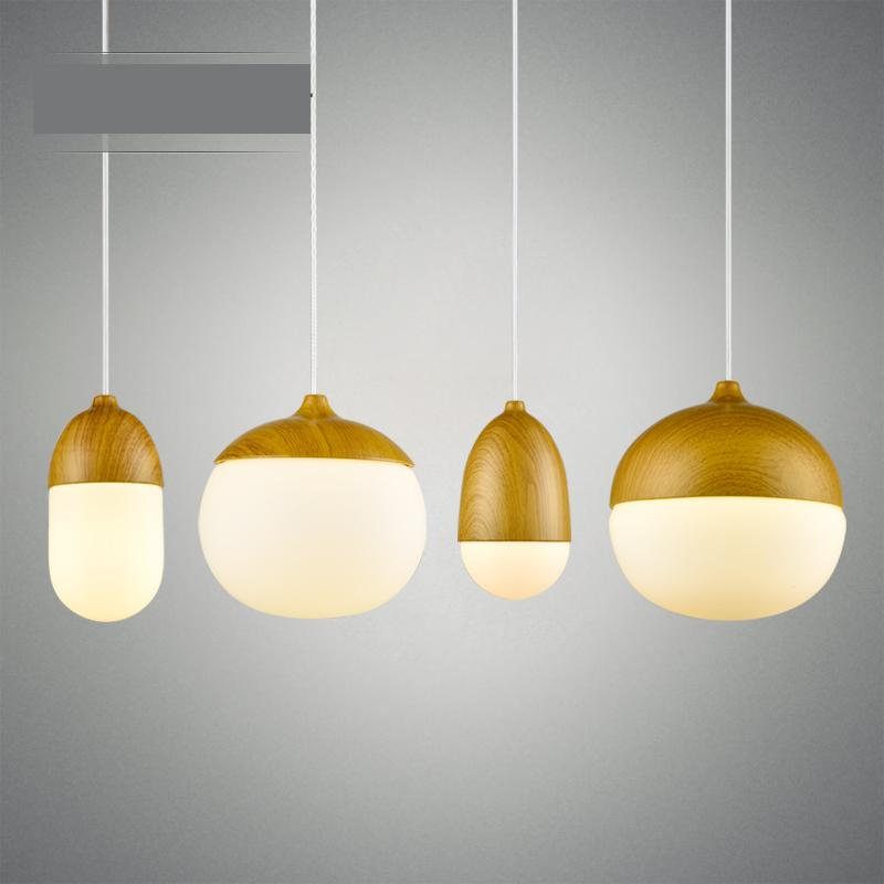 Modern Creative Glass Resin Nuts Led Pendant Light For Dining Room Living Room Restaurant Av 80-265v 1126 new and original vd 300 optex photoelectric switch photoelectric sensor