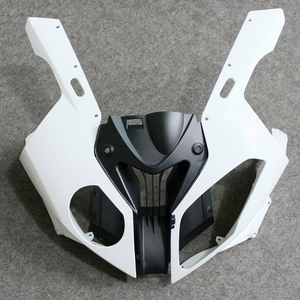 Unpainted Front Upper Nose Top Fairing For BMW S1000RR S 1000 RR 2010 - 2014 13 12 11 S1000 RR S 1000RR 10-14 Moto Fairing Cowl image