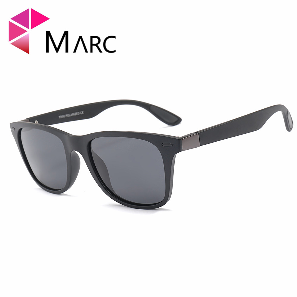 MARC Men TR90 Polarized Sunglasses TR90 Brand Sports Hiking High quality Camping Climbing Sunglasses TAC1 1 in Men 39 s Sunglasses from Apparel Accessories