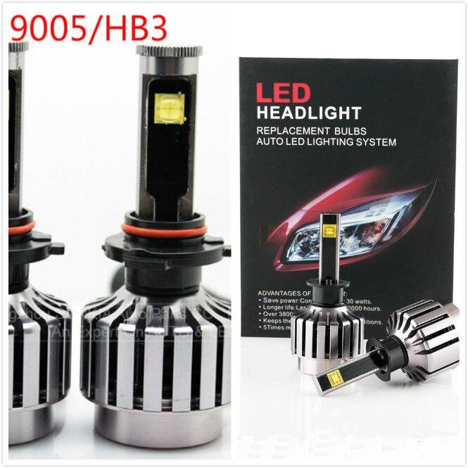 2016 nouveau 9005 HB3 2 pièces 30 W Kit de phare LED de voiture LED ampoule de remplacement phare antibrouillard lumière 6000 K 12 V 24 V pas besoin de relais de Ballast