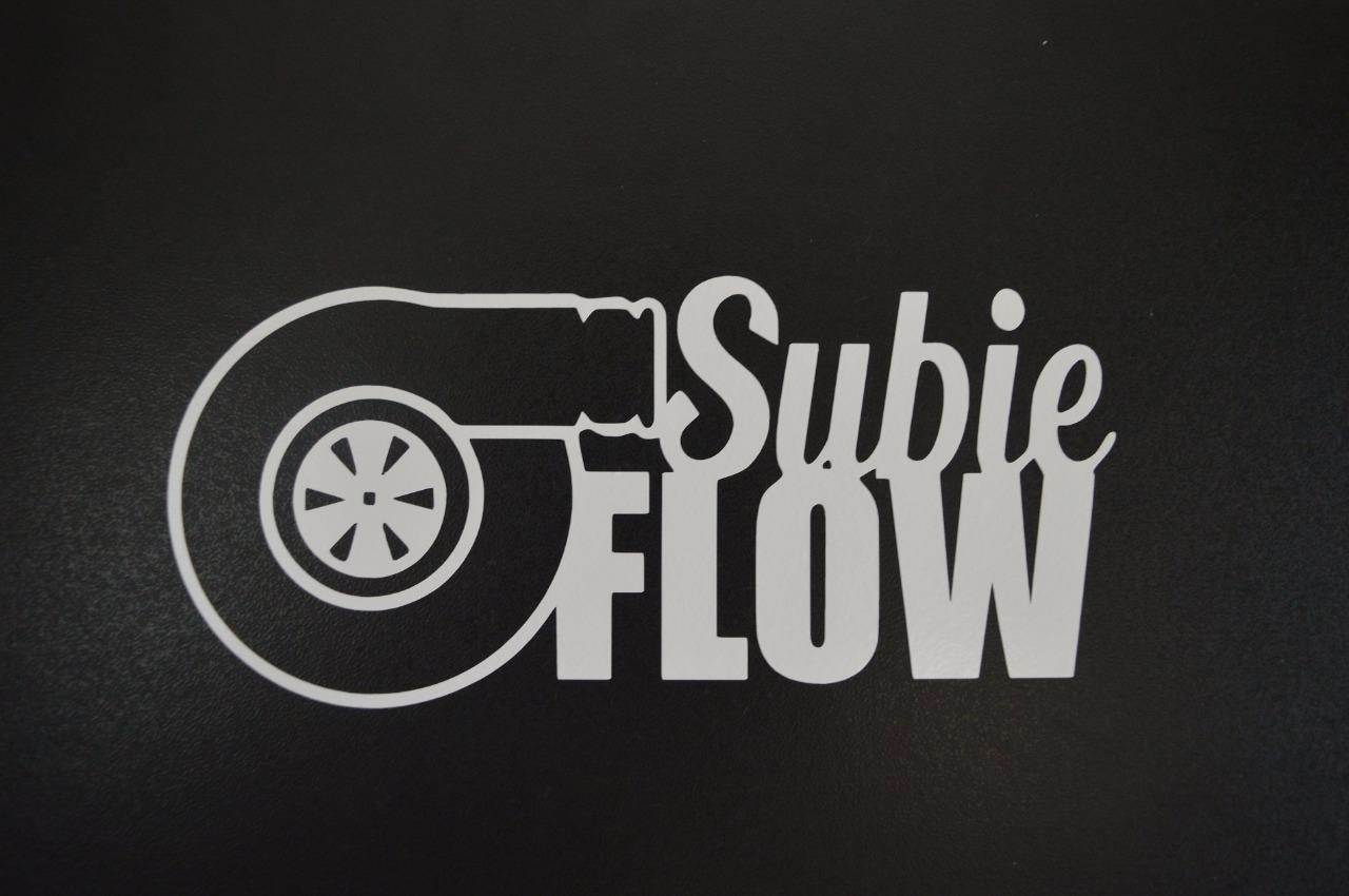 For Subie Flow Subaru STI WRX Impreza BRZ Turbo Window