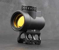 Tactical trijicon mro style 1x Red Dot Sight Scope For High And Low Picatinny Rail Mount Base Hunting Shooting M9159