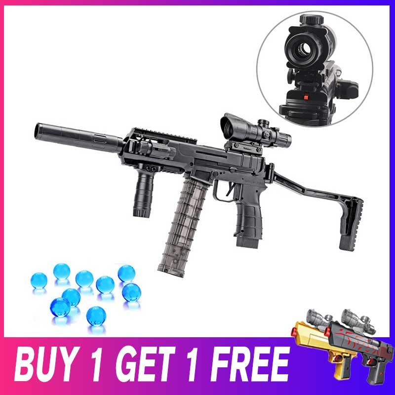 Pistolet à eau en plastique jouets pour enfants pistolet de Sniper infrarouge électrique Auto tirer des balles de Paintball sûrs garçons pistolets arme enfants cadeau