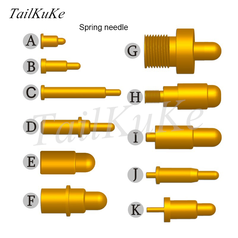 Probe Signal Needle Spring Thimble POGOPIN Connector Large Current Spring Needle Test Contact Pin
