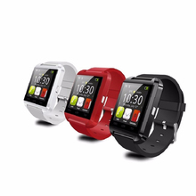 Cellular Clock Smart Watch Uwatch U8 WristWatch digital sport watches for Apple Android Samsung phone Wearable