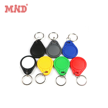Custom printing 125khz EM4200 key tag  for access control system with Tags Card Sticker Fob Token Ring Proximity Chip