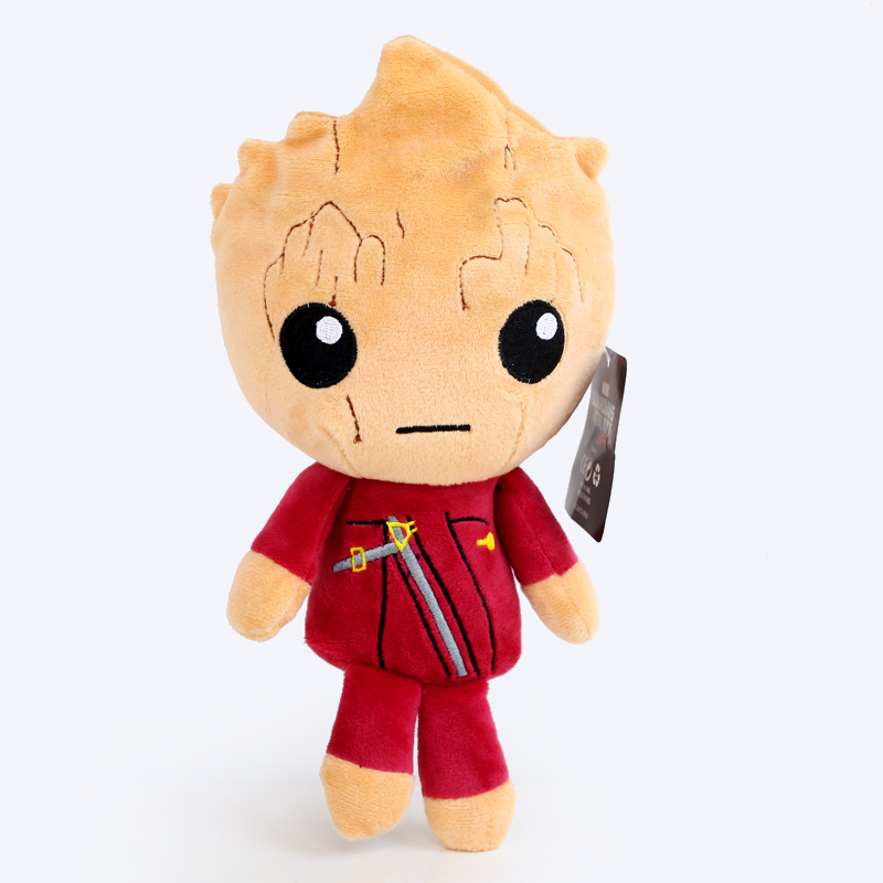 22cm Red Tree Man Plush Doll Toy Movie Guardians Of The Galaxy 2 Ents Tree Man Plush Soft Stuffed Toys for Kids Children Gift