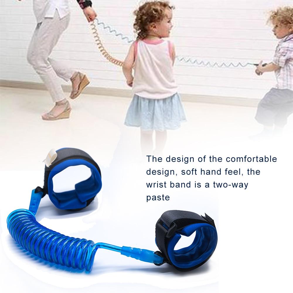 Child Wrist Leash Baby Kid Toddler Wrist Strap Safety Harness Tether Anti Lost