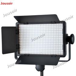 GODOX LED500C 3300K-5600K Studio Video Light Lamp + Remote For Camera Camcorder CD50