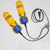 New Electric Sport uomo giallo Tipo Shoe Dryer con Riscaldatore Dehumidify disinfezione deodorante Scarpa più caldo
