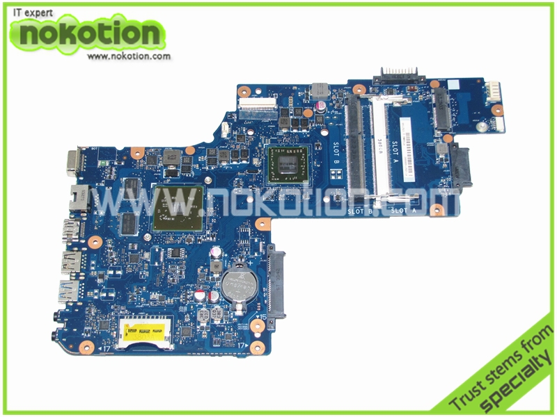 laptop Motherboard for toshiba C50 C50D-A C50D Main board PT10AN DSC MB REV 2.1 AMD 8500 graphics  15'' 216-084100c ноутбук toshiba satellit c50 a l6k в минске